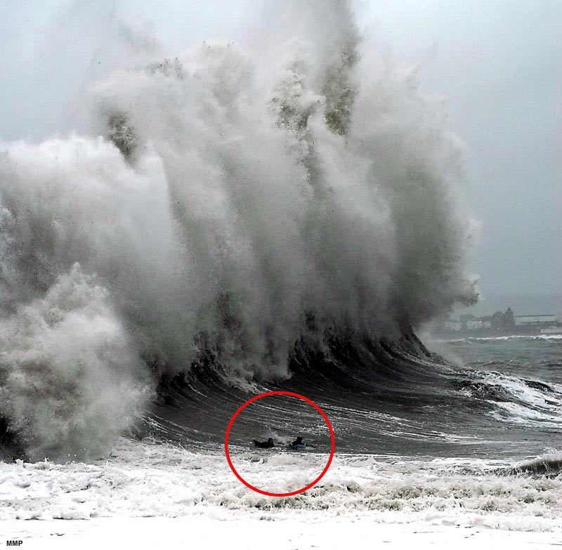 What are the chances of Christchurch getting smashed by a tsunami?