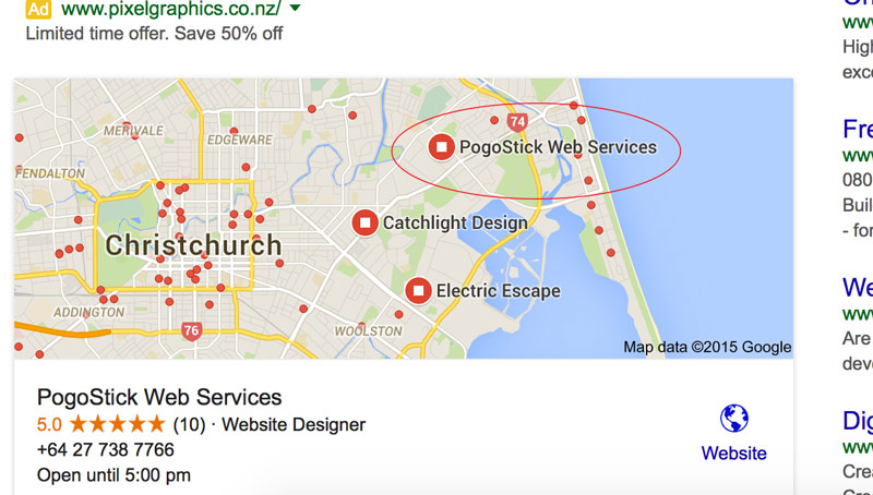 Creating an effective Google My Business (formerly Google Places) listing