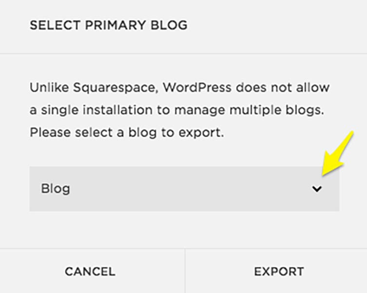 Blog posts not exporting from Squarespace – Solved!